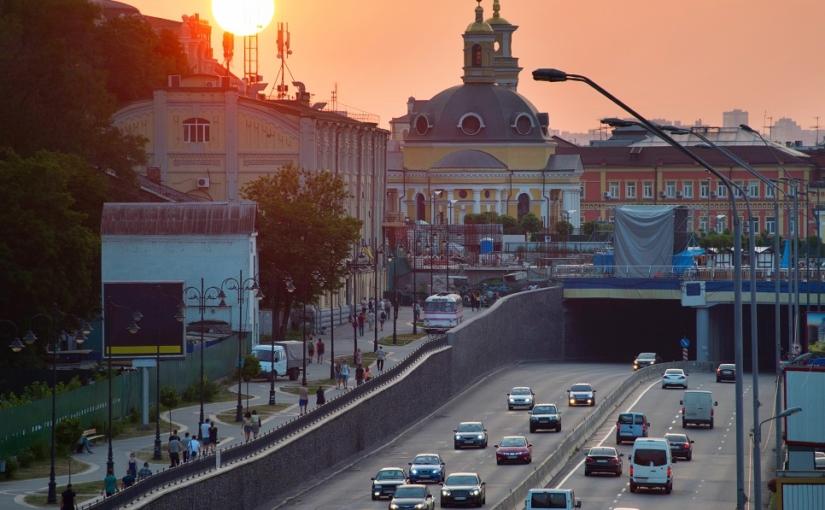 Autoverkäufer in der Ukraine